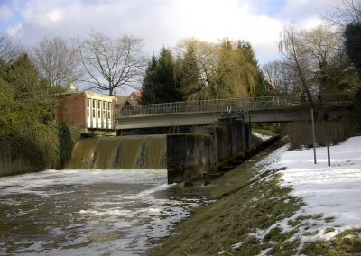 DEPOT GEORGSDORF  MODERNIZING OF THE REMOTE CONTROL AND MONITORING OF THE WEIRS ON THE VECHTE AND THE DINKEL