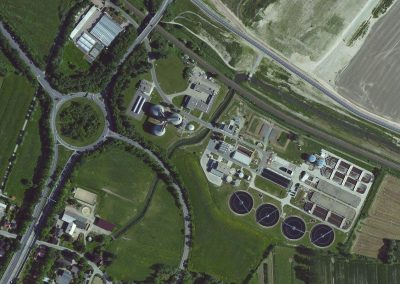 CUXHAVEN SEWAGE TREATMENT PLANT  ELECTRICAL CONTROL ENGINEERING, HIGH WATER PUMPING STATION