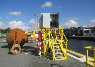 BREMERHAVEN BUOY YARD BUILDING AUTOMATION