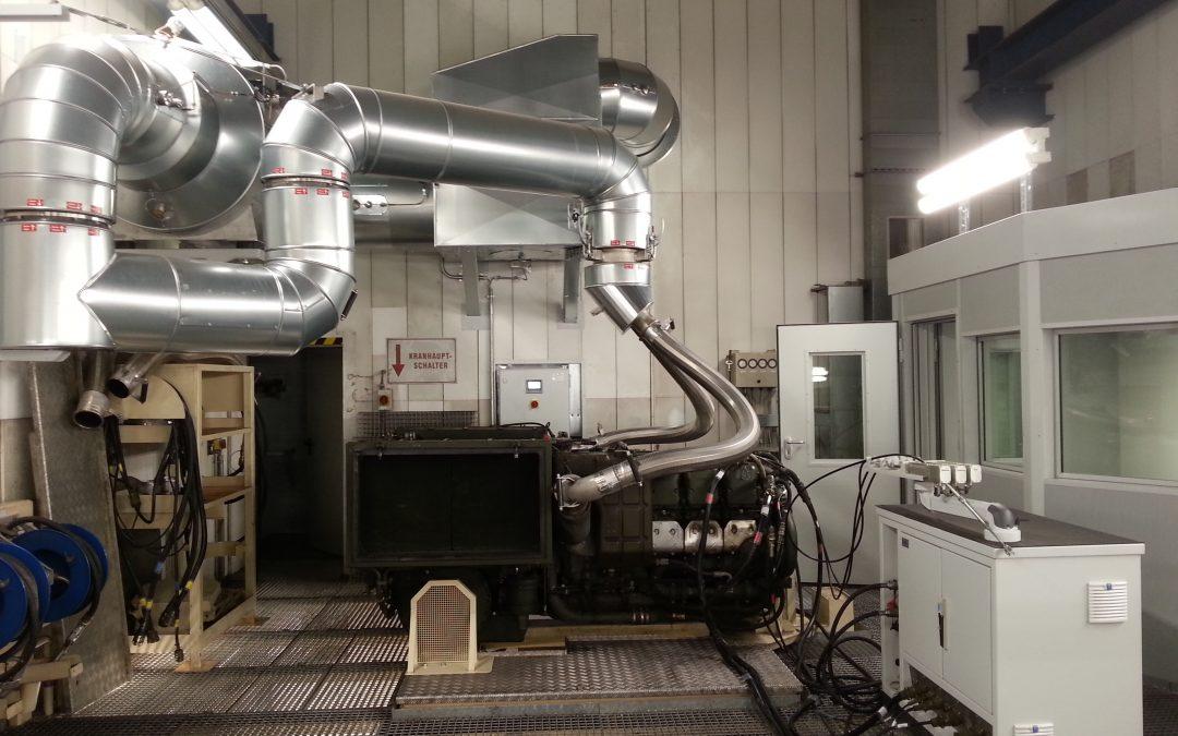 Kyffhäuserkaserne Bad Frankenhausen Modifizierung Motorenstandlauf