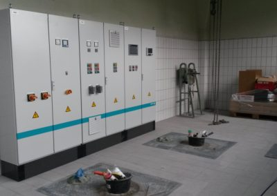 ACKMANN PUMP STATION DELIVERY AND INSTALLATION OF SWITCHGEAR AND CONTROL SYSTEM
