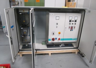 Pumping STATION SCHLESWIGER STRASSE (PW 189) CONTROL CABINET MEASUREMENT- AND AUTOMATION ENGINEERING