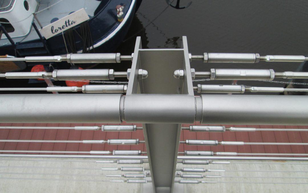 Hafen Celle Geländerkonstruktion