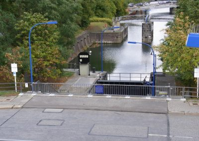 HAMMERBROOK LOCK  REFURBISHMENT OF THE DRIVE AND ELECTRICAL ENGINEERING